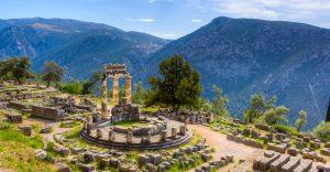 Templu Delphi-Atena