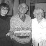 Aura Christi – Cu Bianca si Nicolae Balota Paris foto Ileana Constantinescu 1999