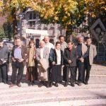 Aura Christi – Cu cativa colegi la Sinaia