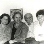 Aura Christi – Cu parintii si matusile Ileana si Marga