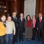 Cu Andrei Marga, Delia Marga, Eugen Simion, Nicolae Breban, Mircia Dumitrescu, Maya Simionescu