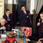 Cu autorul romanului Bunavestire, Mihai Gadea si Lucia Hossu Longin