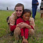 Cu un pui din Tibet